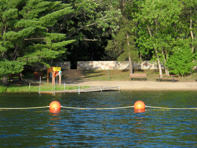 Crosslake Corps of Engineers Campground swimming beach is a terrific beach for children of all ages.