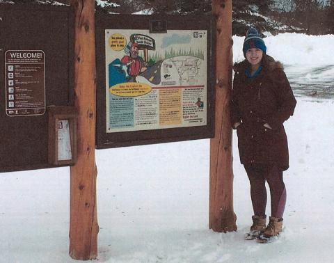 Pequot Lakes 2018 graduate, Alexandra Kotaska, was the recipient of the Paul Bunyan Scenic Byway Association's scholarship.