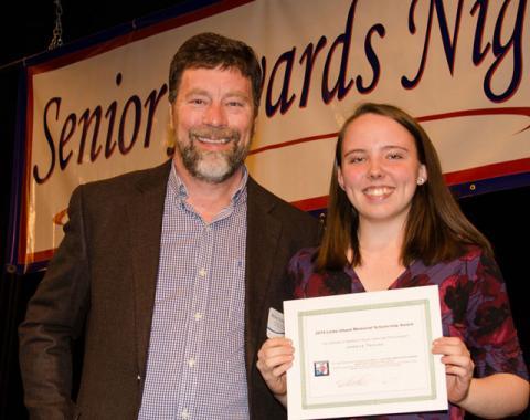 Jordyn Tayloe Awarded $1000 Linda Ulland Memorial Scholarship 2019