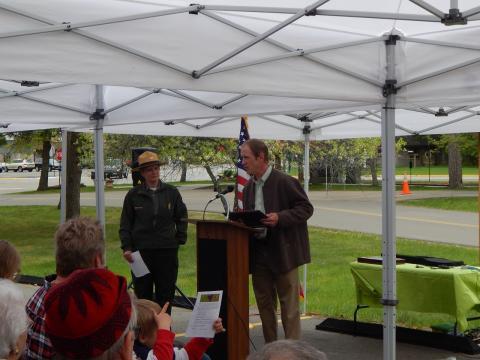 Stewart Swenson of the Whitefish Area Lodging Association
