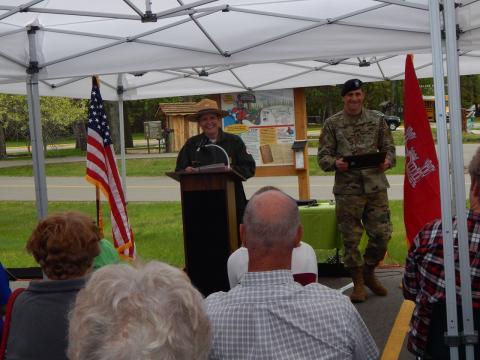 Corrine Hodapp, Supervisory Ranger, US Army Corps of Engineers, Crosslake.